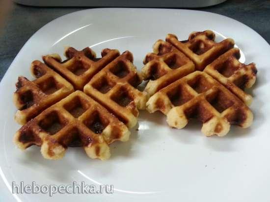 Вафли льежские в вафельнице GF-020 Waffle Pro