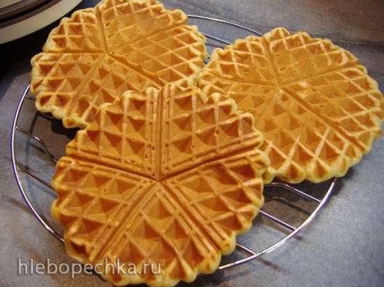 Вафельное печенье