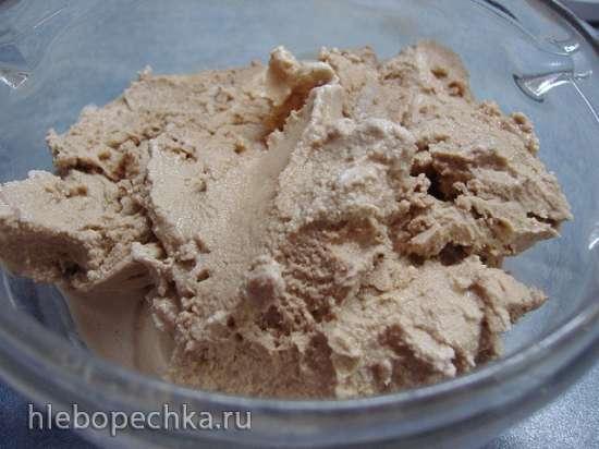 Мороженое Шоколадное с шоколадом (без яиц) в мороженице Brand 3811
