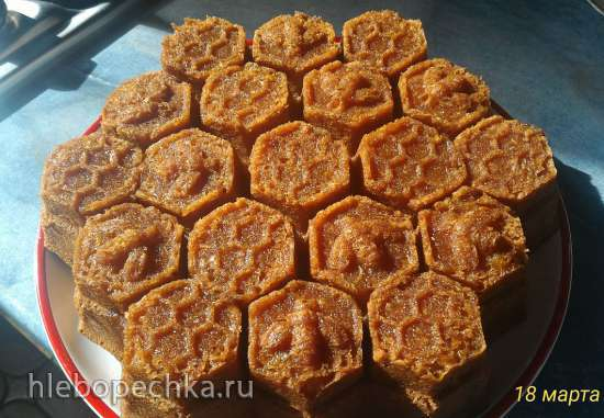 Медово-лимонный кекс