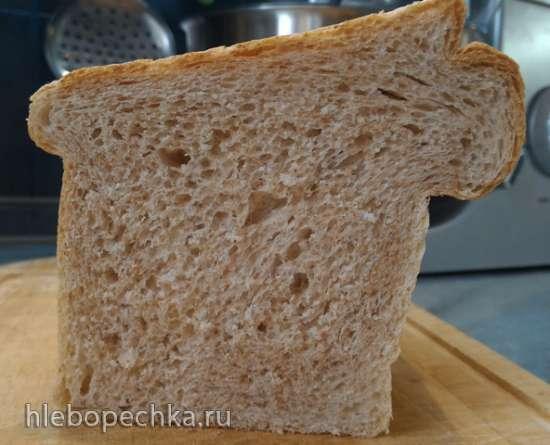 Хлеб пшеничный формовой (Pullman Bread от Daniel T.DiMuzio)