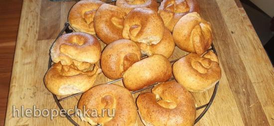 Кипрские (греческие) булочки с оливками (элио́питес)