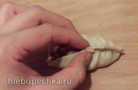 Манты Уйгурские (мастер класс по лепке косичкой)