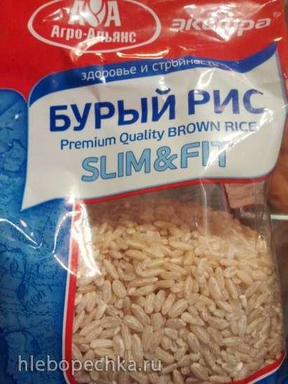 Молочная каша из бурого риса в мультиварке Steba