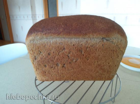 Формовой опарный отрубной хлеб