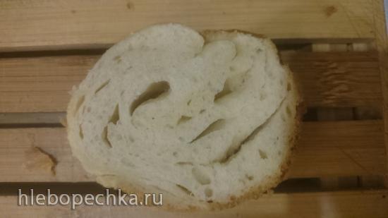 Багет Турбийон (Tourbillon), адаптированный к картофельно-хмелевым дрожжам
