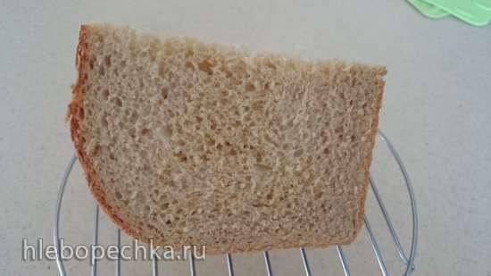 Анадама (Anadama)  - знаменитый хлеб Новой Англии (Питер Рейнхарт) (духовка)