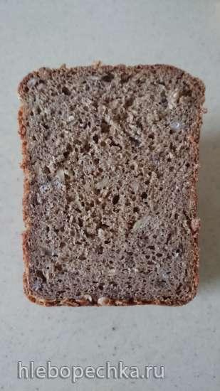 Немецкий зерновой хлеб на закваске