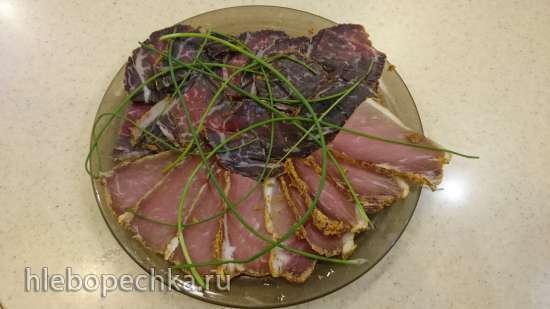 Бастурма сыровяленая из свинины