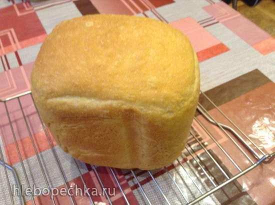 Хлеб яблочный на жидких дрожжах в хлебопечке