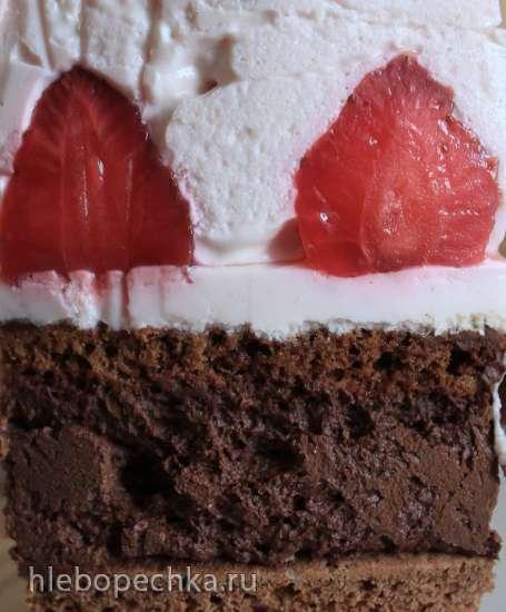 Торт «Клубничное наслаждение»