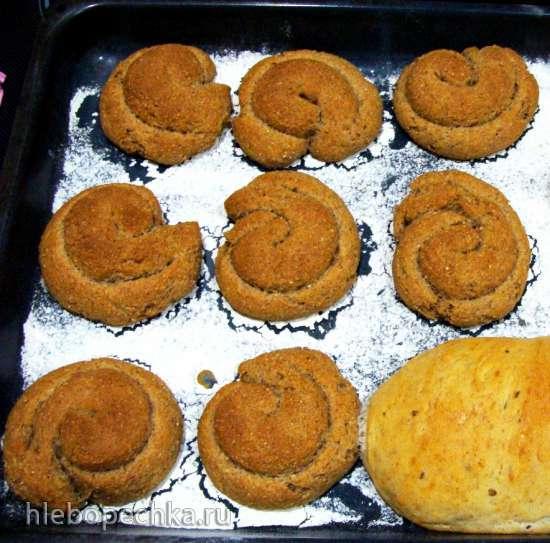 Критский ячменный хлеб Паксимадья
