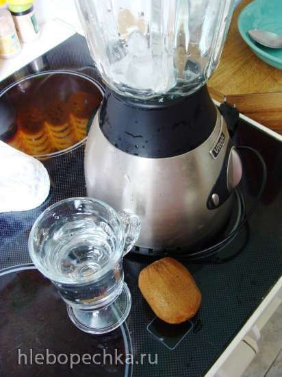 Коктейль - киви и мёд