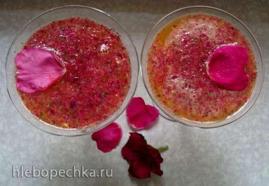 Коктейль фруктовый «Розовый закат»