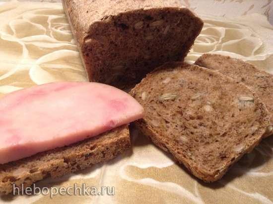 Хлеб с 3 видами семечек ( Dreisaatenbrot)