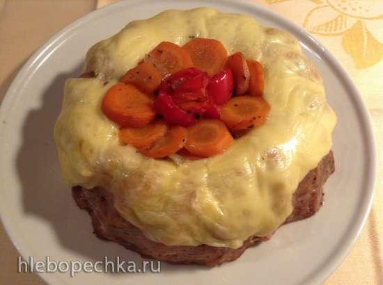Мясной рулет-пирог (Falscher Hase Kuchen)