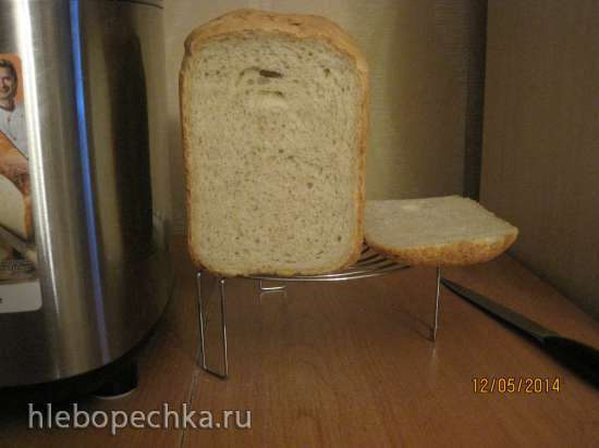 Хлеб 65*(на заварке Танг-Жонг) на закваске и дрожжах в ХП Panasonic SD-255