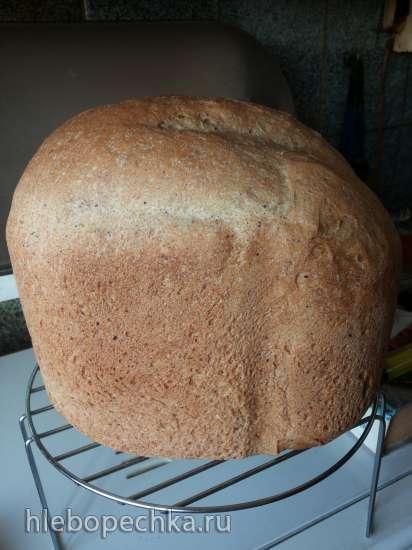 Крестьянский хлеб в хлебопечке
