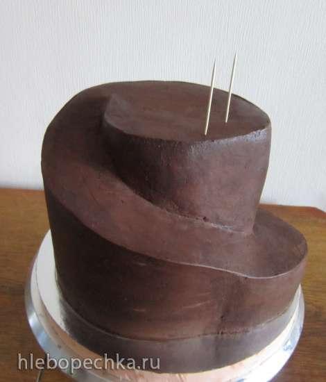 Сборка торта Дорога серпантин