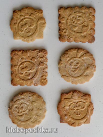 Праздничное пасхальное печенье детям