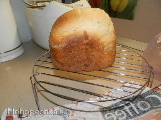 Пшеничный хлеб с прованскими травами и чесноком