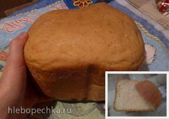 Самый простой белый хлеб из пшеничной муки