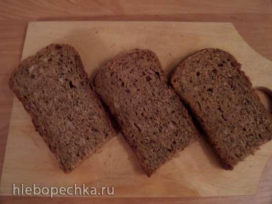 Пшенично-ржаной хлеб с солодом в мультиварке-скороварке Moulinex CE502832