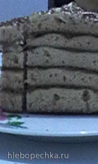Торт-медовик «Тётя Роза, которая уехала в Израиль»