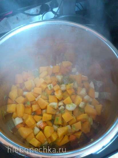 Суп-пюре из тыквы в мультиварке Steba DD1