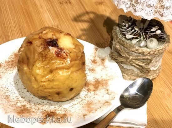 Яблоки печеные с сушеными ягодами, медом и корицей (Ninja® Foodi® 6.5-qt.)