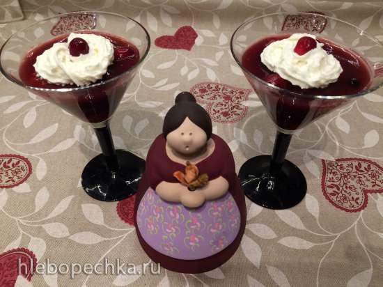 Обед в немецком духе (3):  Rote Grutze  (Красная каша)