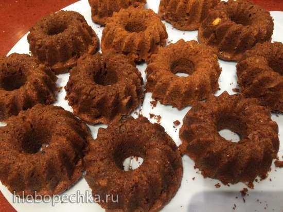 Шоколадный ореховый пудинг Mohr im Hemd (Мавр в рубашке)
