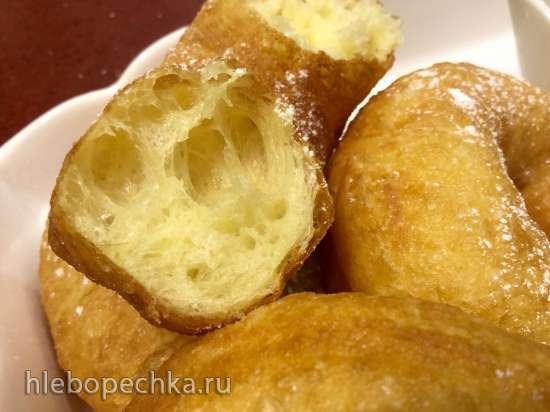 """Пончики """"Бенье"""" (французские) с ванильным соусом - от Режиса Тригеля"""