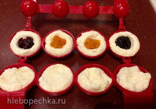Шарики творожные со вкусными и полезными начинками (форма для изготовления шариков или без нее)