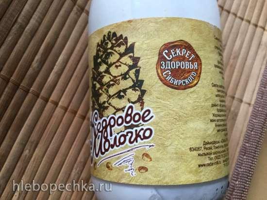 Мороженое Таежное на кедровом молоке с диким медом