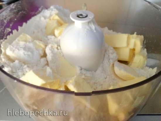 Печенье песочное «Червячки» (через мясорубку)