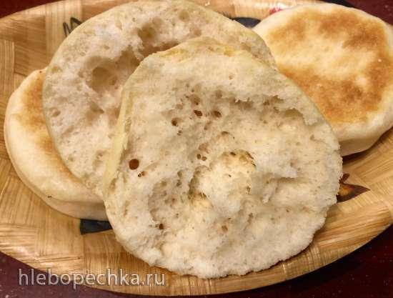 Пышки итальянские Тиджелле (TIGELLE) (лепешки, выпеченные на сковороде на тесте со смальцем)