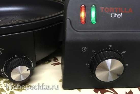 Утиные окорочка  в яблочно-луковом соусе  (Tortilla Chef 118000 Princess)