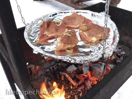 Мясо на качелях по-саарски (Saarlaendischer Schwenkbraten)