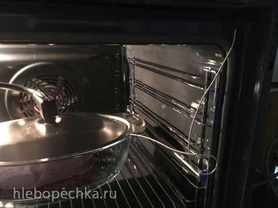 Буженина классическая, запеченная в духовке с паром и термощупом