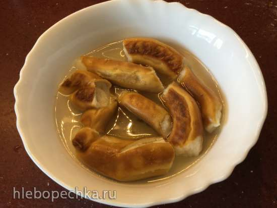 Суп с крендельками (брецелями) Laugenbrezelsuppe