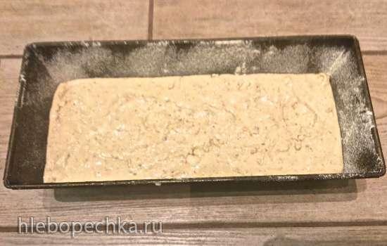 Безглютеновый хлеб на рисовой закваске