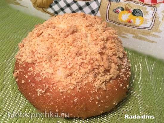Булка ярославская сдобная со штрейзелем