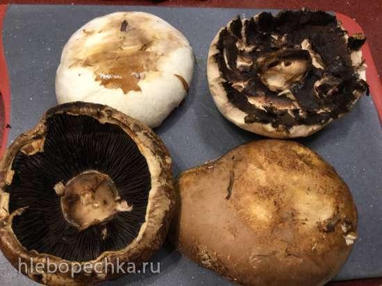 Шницель в венском стиле из грибов Portobello от шеф-повара Марселя Биро