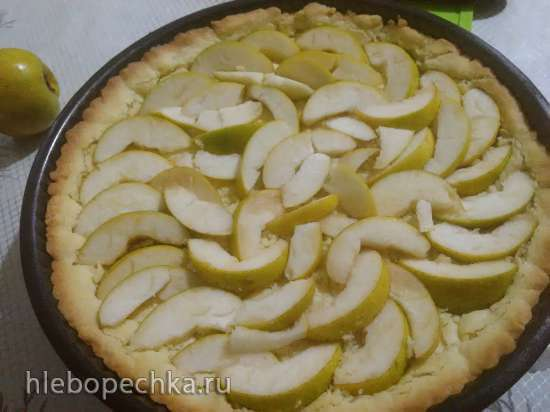 Пирог с тыквой и грушей