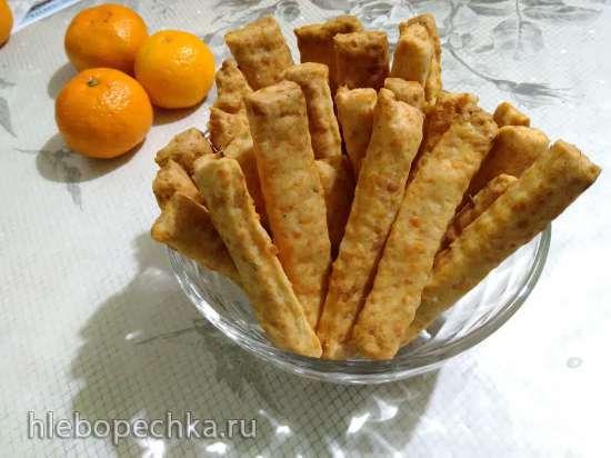 Сырные брусочки с тмином