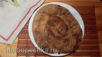 Пита Гужвара Зеляница (Раскатываем тесто вручную)