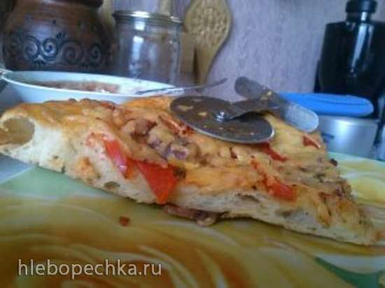 Тесто для пиццы неаполитанское (Neo-Neopolitan Pizza Dough) Peter Reinhart