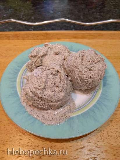 Мороженое с маком и Амаретто (миксер)