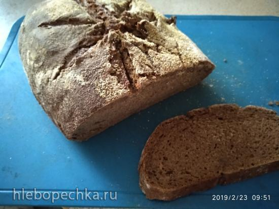 Хлеб заварной заквасочный